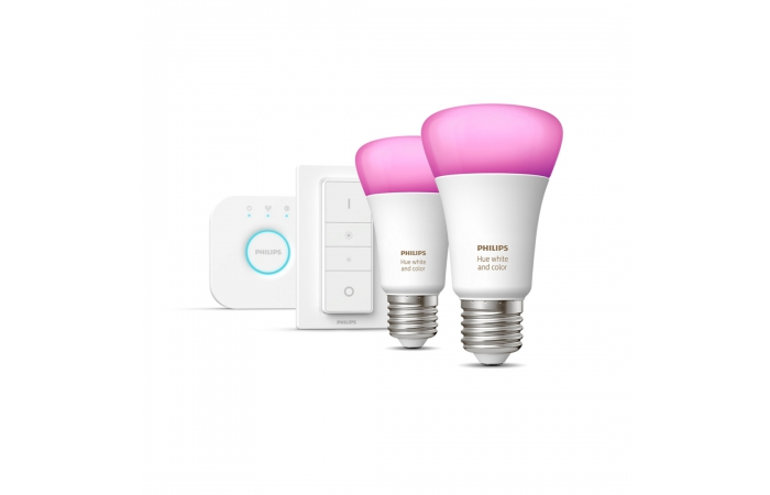 Philips Hue Wit & Color Ambiance Starterkit E27
