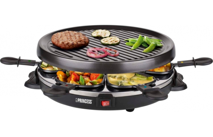 Princess 162725Raclette6GrillParty